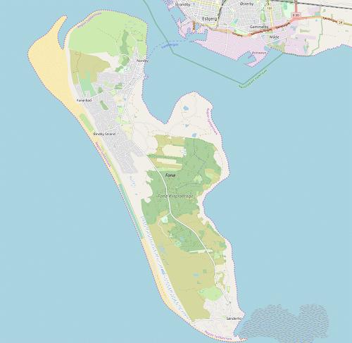 Fanø Karte
