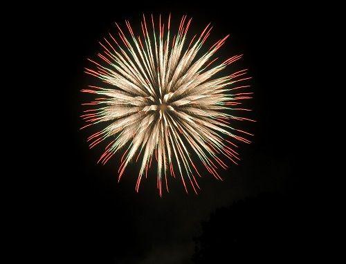 Feuerwerk auf Fanø