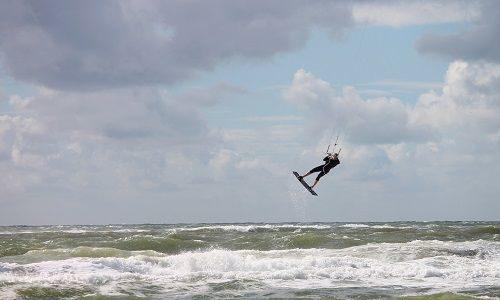 Kitesurfen auf Fanø