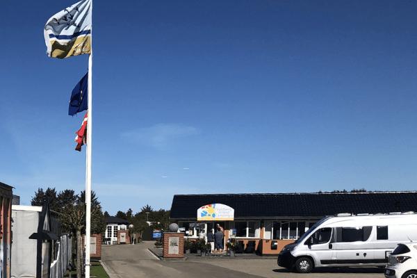 Campingsplatz in Rindby